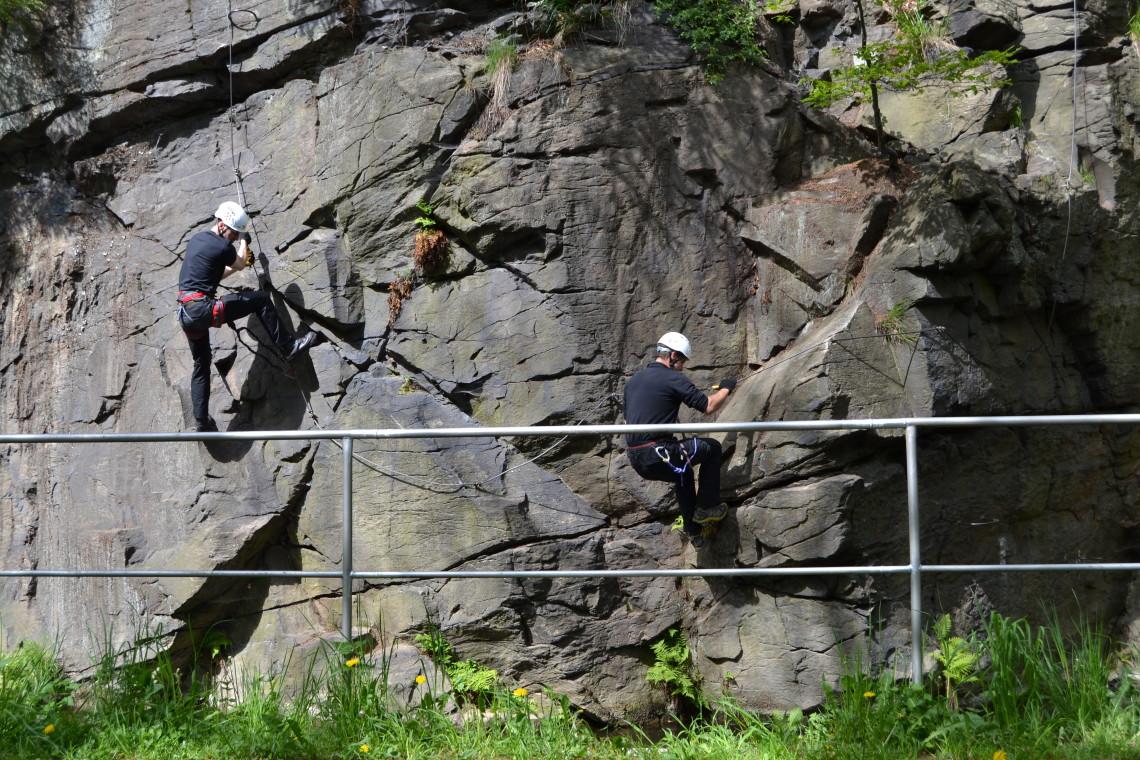 Klettersteig Erlabrunn : Walter keiderling klettersteig  berg sportreisen