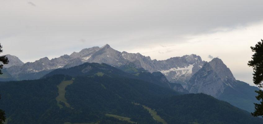 Aufstieg zum Osterfelderkopf oder die Alpspitze Teil 1