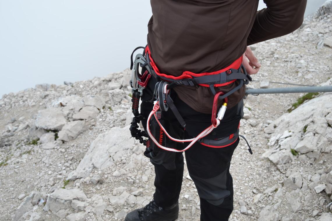 Klettersteig Rucksack : Klettersteig u2013 was brauche ich? hikerz