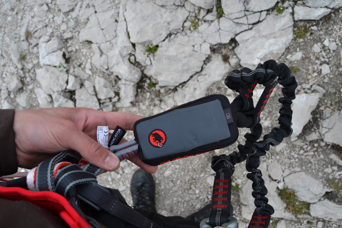 Klettersteigset Funktion : Klettersteigset bandfalldämpfer funktion: neue klettersteignorm