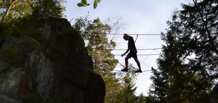 Klettersteig in Breitenbrunn