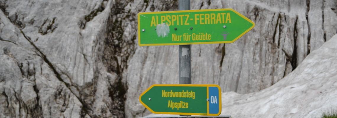 Aufstieg zur Alpspitze Teil 2